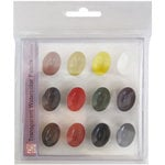 Kuretake - ZIG - Watercolor System - Transparent Watercolor Palette - 12 Piece Set