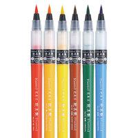Kuretake - Cambio Tambien Collection - Brush Pen Set 6VA