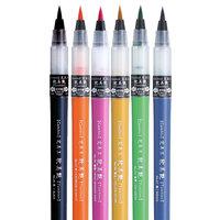 Kuretake - Cambio Tambien Collection - Brush Pen Set 6VB