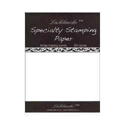 LaBlanche - Specialty Collection - Stamping Paper Pack - Artist Trading Cards