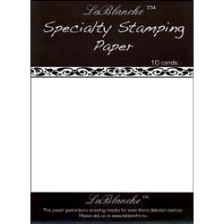 LaBlanche - Specialty Collection - Stamping Paper Pack - 8.5 x 11