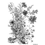 LaBlanche - Foam Mounted Silicone Stamp - Wild Flowers