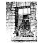 LaBlanche - Foam Mounted Silicone Stamp - Contented Cat