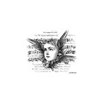 LaBlanche - Foam Mounted Silicone Stamp - Winged Collage