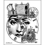 LaBlanche - Foam Mounted Silicone Stamp - Measure Her Thoughts