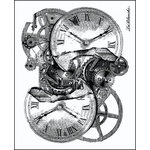 LaBlanche - Foam Mounted Silicone Stamp - Meshed Time
