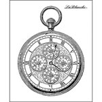 LaBlanche - Foam Mounted Silicone Stamp - Intricate Watch