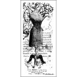 LaBlanche - Foam Mounted Silicone Stamp - Dress Form