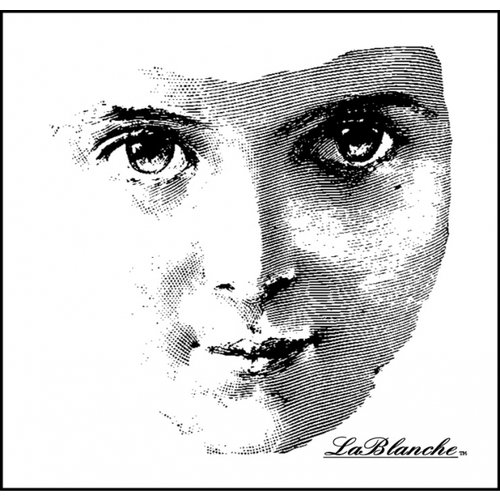 LaBlanche - Foam Mounted Silicone Stamp - Friendly Face
