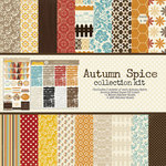 Lily Bee Design - Autumn Spice Collection - 12 x 12 Collection Kit