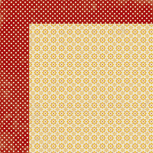 Lily Bee Design - Autumn Spice Collection - 12 x 12 Double Sided Paper - Ginger