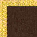 Lily Bee Design - Autumn Spice Collection - 12 x 12 Double Sided Paper - Nutmeg