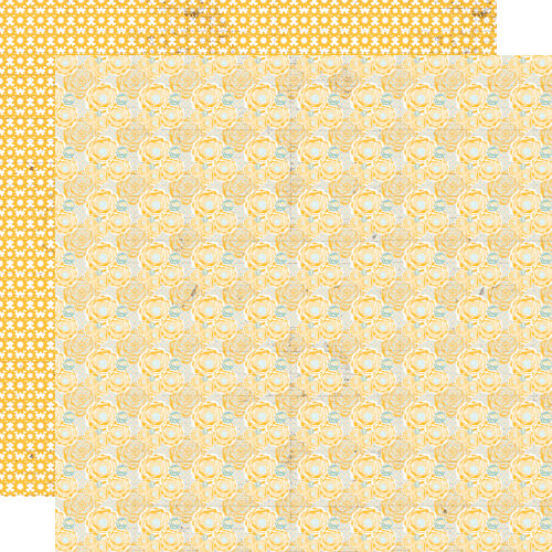 Lily Bee Design - Buttercup Collection - 12 x 12 Double Sided Paper - Blossom