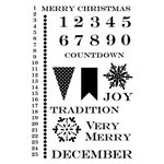Lily Bee Design - Christmas Cheer Collection - Clear Acrylic Stamps