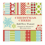 Lily Bee Design - Christmas Cheer Collection - Tiny Tablet - 6 x 6 Paper Pad