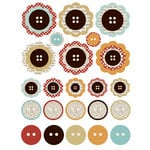 Lily Bee Design - Catching Fall Collection - Chipboard Stickers