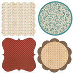 Lily Bee Design - Catching Fall Collection - 12 x 12 Die Cuts - Frames