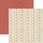 Lily Bee Design - Catching Fall Collection - 12 x 12 Double Sided Paper - Fall Festival