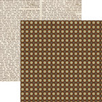 Lily Bee Design - Catching Fall Collection - 12 x 12 Double Sided Paper - Cider