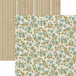 Lily Bee Design - Catching Fall Collection - 12 x 12 Double Sided Paper - Flannel Sheets