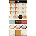 Lily Bee Design - Catching Fall Collection - Cardstock Stickers