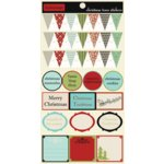 Lily Bee Design - Christmas Town Collection - Cardstock Stickers