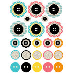 Lily Bee Design - Domestic Bliss Collection - Chipboard Stickers