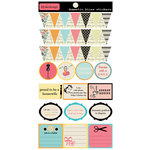 Lily Bee Design - Domestic Bliss Collection - Cardstock Stickers