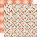Lily Bee Design - Double Dutch Collection - 12 x 12 Double Sided Paper - Marmalade