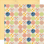 Lily Bee Design - Double Dutch Collection - 12 x 12 Double Sided Paper - Hopscotch