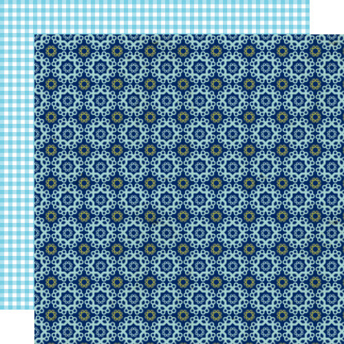 Lily Bee Design - Double Dutch Collection - 12 x 12 Double Sided Paper - Croquet