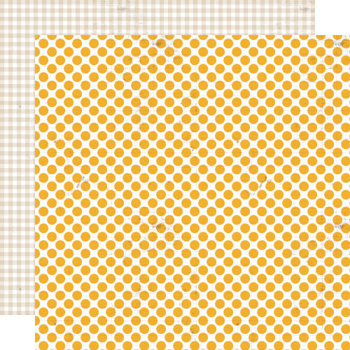 Lily Bee Design - Double Dutch Collection - 12 x 12 Double Sided Paper - Lemonade