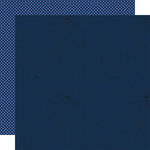 Lily Bee Design - Double Dutch Collection - 12 x 12 Double Sided Paper - Blueberry