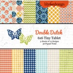 Lily Bee Design - Double Dutch Collection - Tiny Tablet - 6 x 6 Paper Pad