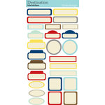 Destination Collection - Cardstock Stickers - Labels by Lily Bee Design
