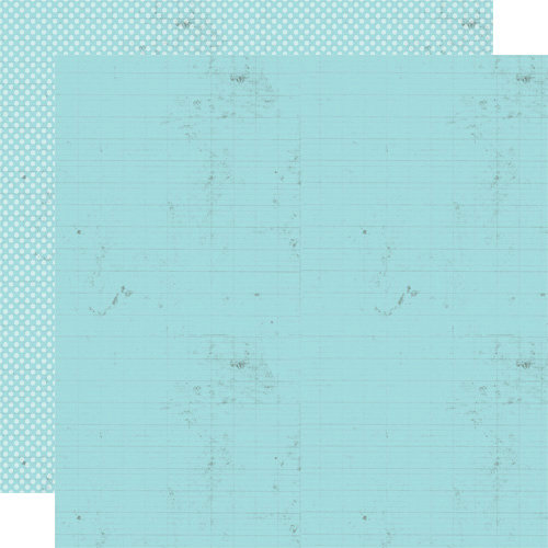 Lily Bee Design - Handmade Collection - 12 x 12 Double Sided Paper - Sky Blue
