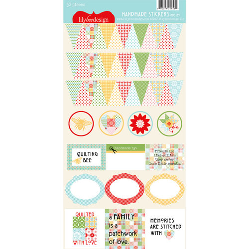 Lily Bee Design - Handmade Collection - Cardstock Stickers