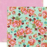 Lily Bee Design - Head Over Heels Collection - 12 x 12 Double Sided Paper - Swoon