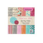 Lily Bee Design - Head Over Heels Collection - Tiny Table - 6 x 6 Paper Pad