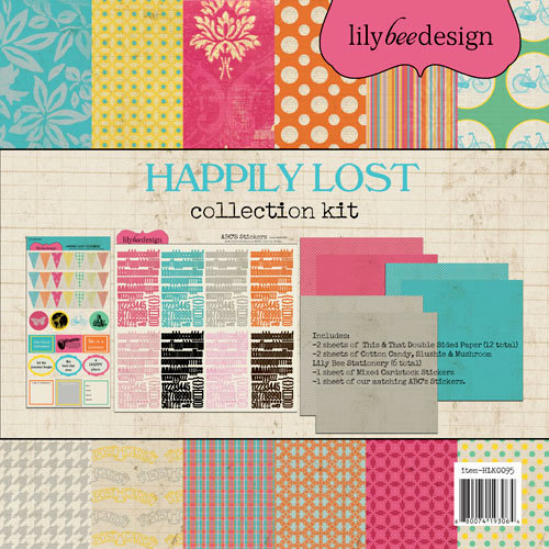 Lily Bee Design - Happily Lost Collection - 12 x 12 Collection Kit