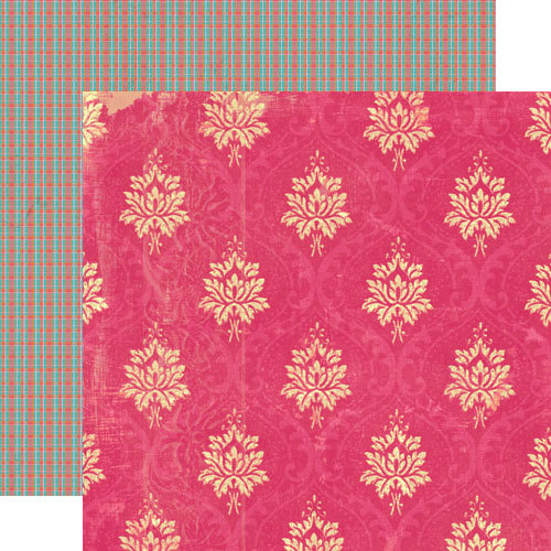 Lily Bee Design - Happily Lost Collection - 12 x 12 Double Sided Paper - Hammock