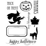 Lily Bee Design - Harvest Market Collection - Halloween - Clear Acrylic Stamps