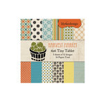 Lily Bee Design - Harvest Market Collection - Halloween - Tiny Tablet - 6 x 6 Paper Pad