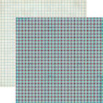 Lily Bee Design - Hello Sunshine Collection - 12 x 12 Double Sided Paper - Blueberry Pie