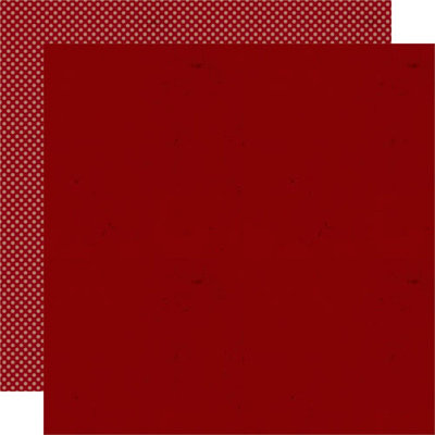 Lily Bee Design - Jingle Collection - Christmas - 12 x 12 Double Sided Paper - Cranberry