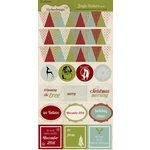 Lily Bee Design - Jingle Collection - Christmas - Cardstock Stickers
