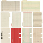 Lily Bee Design - Memorandum Collection - Journal Cards