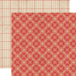 Lily Bee Design - Memorandum Collection - 12 x 12 Double Sided Paper - Boardroom
