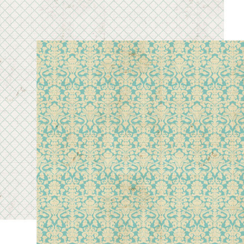 Lily Bee Design - Memorandum Collection - 12 x 12 Double Sided Paper - Payday