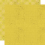 Lily Bee Design - Memorandum Collection - 12 x 12 Double Sided Paper - Lemon